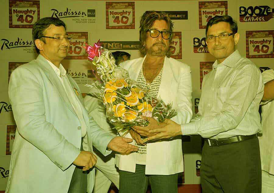 shakti kapoor in event company