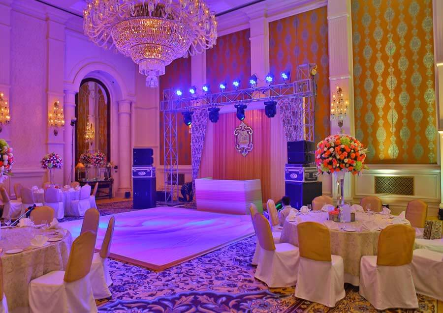 Best DJ decore by GTC Events